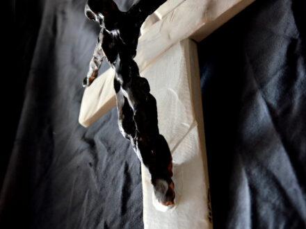 horia tiganus crucifix 30x40cm